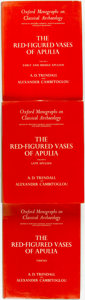 Books:Art & Architecture, A. D. Trendall and Alexander Cambitoglou. The Red-Figured Vasesof Apulia. Oxford: Clarendon Press, 1978-1982.... (Total: 3Items)