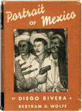 Books:Art & Architecture, Diego Rivera, painting. Bertram D. Wolfe, text. Portrait of Mexico. New York: Covici, Friede Publishers, [1937]....