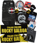 "Movie/TV Memorabilia:Memorabilia, A Large Group of Collectibles Related to ""Rocky,"" Circa 2000s....(Total: 8 Items)"