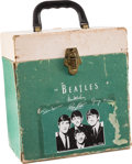 Music Memorabilia:Memorabilia, A Beatles 45 RPM Record Box, (Air Flite, US, 1964)....
