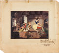 "Movie/TV Memorabilia:Autographs and Signed Items, A Walt Disney Signed Image from ""Snow White and the Seven Dwarfs,""Circa 1937...."
