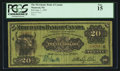 Canadian Currency: , Montreal, PQ- Merchants Bank of Canada $20 June 1, 1907 Ch. #460-16-06. ...