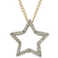 Estate Jewelry:Necklaces, Diamond, Gold Pendant-Necklace. ...
