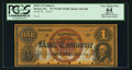 Obsoletes By State:Massachusetts, Boston, MA- Bank of Commerce $1 G4b Proof. ...