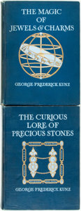 Books:Metaphysical & Occult, George Frederick Kunz. Pair of First Editions. Includes: TheCurious Lore of Precious Stones. [Together with:]Th...(Total: 2 Items)