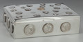 Silver Holloware, American:Other , A Poole Silver Humidor with Applied World Coins, Taunton,Massachusetts, circa 1960. Marks: (lion rampant), STERLING byP...
