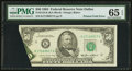 Error Notes:Foldovers, Fr. 2122-K $50 1985 Federal Reserve Note. PMG Gem Uncirculated 65EPQ.. ...