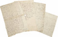 Autographs:Statesmen, Large Lot of Early Pennsylvania Correspondence. Over 17miscellaneous early American letters with Pennsylvania content orco... (Total: 17 Items)
