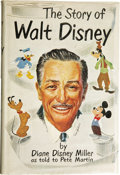 Books:Signed Editions, [Walt Disney] Diane Disney Miller (as Told to Pete Martin): TheStory of Walt Disney Signed by Both the Author and...