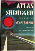 Books:Fiction, Ayn Rand: First Edition of Atlas Shrugged (New York: RandomHouse, 1957), first printing, 1,168 pages plus Author's Note...(Total: 1 Item)