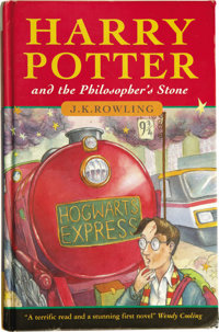 J.K. Rowling: The Rare True First Edition of the First Harry Potter Book, Harry Potter and the Philosopher's Stone