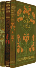 Books:Fiction, Three Books of Poetry by Paul Laurence Dunbar, including:. WhenMalindy Sings (New York: Dodd Mead and Co., 1906), f... (Total:3 Item)