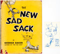 Books:Art & Architecture, [World War II]. [Cartoons]. George Baker. The New Sad Sack. New York: Simon and Schuster, [1946]. First edition....