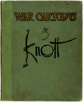 Books:Art & Architecture, [Texana]. [Political Cartoons]. John F. Knott. War Cartoons by John. F. Knott. Cartoonist for the Dallas News. No Pl...