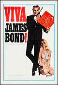 "Movie Posters:James Bond, Viva James Bond (United Artists, R-1970). International One Sheet(27"" X 40.75""). James Bond.. ..."
