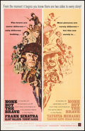 "Movie Posters:War, None But the Brave (Warner Brothers, 1965). One Sheet (27"" X41.25""). War.. ..."