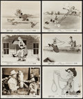 "Movie Posters:Animation, Pecos Bill (RKO, R-1954). Photos (10) (8"" X 10""). Animation.. ...(Total: 10 Items)"