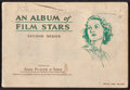 "Movie Posters:Miscellaneous, An Album of Film Stars, Second Series (John Player & Sons, 1934). Cigarette Card Album (20 Pages, 5"" X 7.25""). Miscellaneous..."