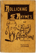 Books:Art & Architecture, [Cartoons/Humor]. N. W. Bingham. J. A. Jameson, illustrator. Rollicking Rhymes of Old and New Times. From A to Ampersand...
