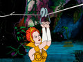 Animation Art:Production Cel, He-Man and the Masters of the Universe Teela Production Cel(Filmation, 1983)....