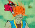 Animation Art:Production Cel, He-Man and the Masters of the Universe Orko Production CelSetup (Filmation, 1984)....