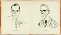"""Books:Art & Architecture, [Caricature]. """"Bugs"""" Baer and Henry Major. SIGNED/LIMITED. Hollywood with """"Bugs"""" Baer and Henry Major. [No place: He..."""
