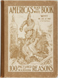 Books:Art & Architecture, [World War I]. [Political Cartoons]. W. A. Rogers. America's Black and White Book. One Hundred Pictured Reasons Why ...