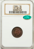 Proof Indian Cents, 1883 1C PR66 Red and Brown NGC. CAC....