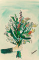 Ludwig Bemelmans (American, 1898-1962) To the One I Love Best, book cover, 1955 Watercolor and gouache, with pen and i...
