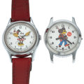 Timepieces:Wristwatch, Minnie Mouse & A Character Wristwatches. ... (Total: 2 Items)