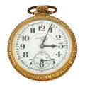Timepieces:Pocket (post 1900), Illinois 21 Jewel Sante Fe Special Pocket Watch. ...
