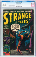 Golden Age (1938-1955):Horror, Strange Tales #6 (Atlas, 1952) CGC GD/VG 3.0 Off-white to whitepages....