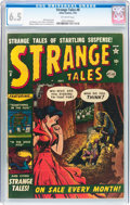Golden Age (1938-1955):Horror, Strange Tales #8 (Atlas, 1952) CGC FN+ 6.5 Off-white pages....