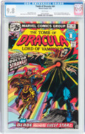Bronze Age (1970-1979):Horror, Tomb of Dracula #44 (Marvel, 1976) CGC NM/MT 9.8 White pages....