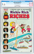Bronze Age (1970-1979):Cartoon Character, Richie Rich Riches #7 File Copy (Harvey, 1973) CGC NM+ 9.6Off-white to white pages....