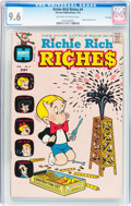 Bronze Age (1970-1979):Cartoon Character, Richie Rich Riches #4 File Copy (Harvey, 1973) CGC NM+ 9.6Off-white to white pages....