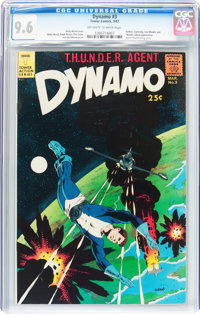 Dynamo #3 (Tower, 1967) CGC NM+ 9.6 Off-white to white pages