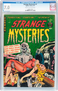 Golden Age (1938-1955):Horror, Strange Mysteries #1 (Superior Comics, 1951) CGC FN/VF 7.0 Cream tooff-white pages....