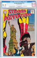 Silver Age (1956-1969):Science Fiction, Strange Adventures #112 (DC, 1960) CGC NM- 9.2 Off-white to whitepages....