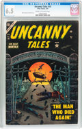 Golden Age (1938-1955):Horror, Uncanny Tales #19 (Atlas, 1954) CGC FN+ 6.5 Cream to off-whitepages....