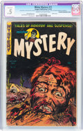 Golden Age (1938-1955):Horror, Mister Mystery #11 (Aragon, 1953) CGC Conserved .5 Cream tooff-white pages....