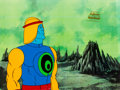 Animation Art:Production Cel, He-Man and the Masters of the Universe Sy-Clone ProductionCel Setup and Animation Drawing Group (Filmation, 1984).... (Total:9 Items)