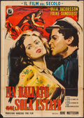 """Movie Posters:Foreign, One Summer of Happiness (INDIEF Film, 1952). Italian 2 - Foglio (39"""" X 55""""). Foreign.. ..."""