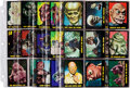 Memorabilia:Trading Cards, Outer Limits Trading Cards Complete Set (Bubbles, Inc., 1964)....
