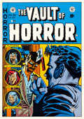 Memorabilia:Poster, EC Comics Cover Poster Group of 2 (Graphic Masters, undated)....(Total: 2 Items)
