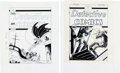 Original Comic Art:Miscellaneous, Detective Comics Reproduction Cover Art Group of 2 (DC,undated).... (Total: 2 Items)