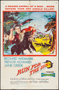 "Movie Posters:Adventure, Run for the Sun & Other Lot (United Artists, 1956). One Sheets(2) (27"" X 41""). Adventure.. ... (Total: 2 Items)"