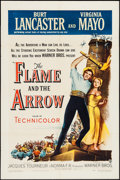 "Movie Posters:Adventure, The Flame and the Arrow (Warner Brothers, 1950). One Sheet (27"" X41""). Adventure.. ..."