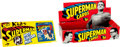 Memorabilia:Trading Cards, Superman Trading Cards Wax Pack Box Only (NationalPeriodical/Topps, 1965) Condition: FN....