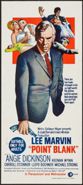 """Movie Posters:Crime, Point Blank (MGM, 1967). Australian Daybill (13.25"""" X 29.75"""").Crime.. ..."""